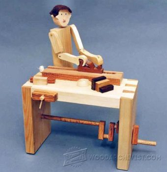 2438-Woodworker - Automata Toy Plans