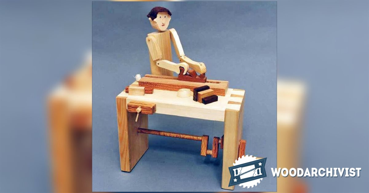 Woodworker - Automata Toy Plans • WoodArchivist