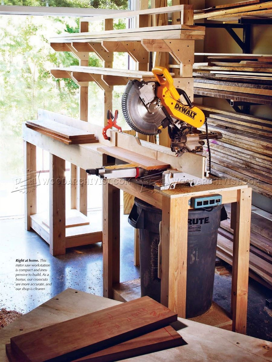 Build Miter Saw Stand