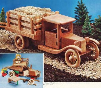 2448-Wooden Toy Truck Plans