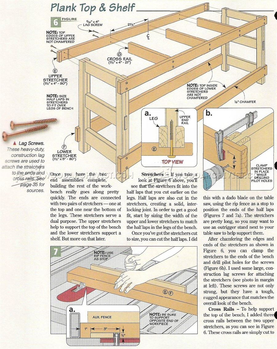 Heavy Duty Workbench Plans - Workshop Solutions