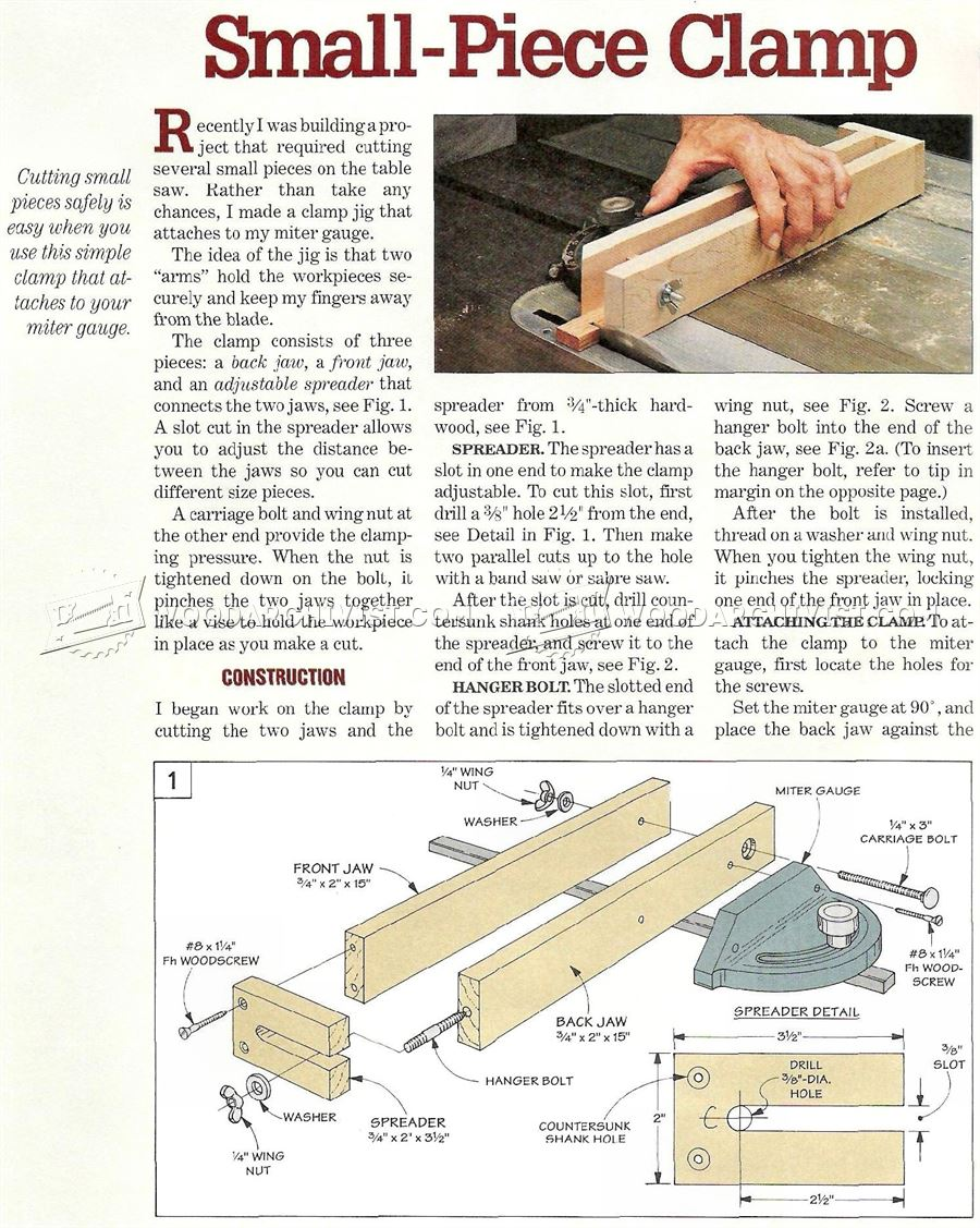#2451 Small Parts Cutting Jig