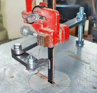 2452-Band Saw Pattern Cutting Jig