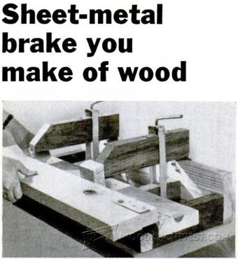 2462-Sheet Metall Brake Plans