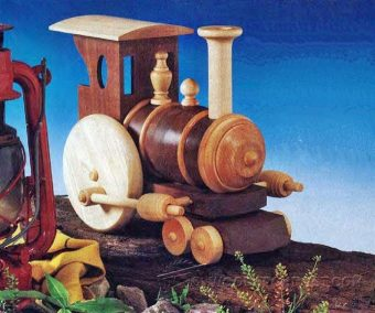 2463-Wooden Toy Train Plans