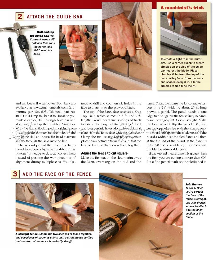 Ultimate Crosscut Sled