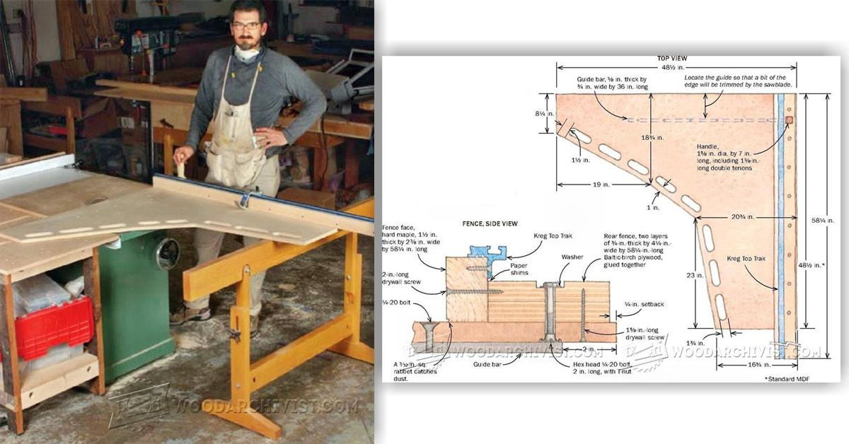 Ultimate Crosscut Sled Woodarchivist
