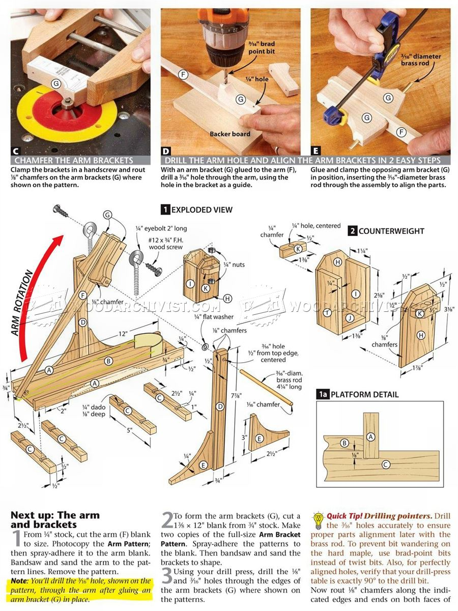 2472 toy catapult plans woodarchivist for Toy plans