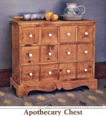 2473-Apothecary Chest Plans