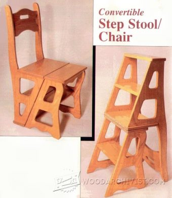 2478-Chair Step Stool Plans
