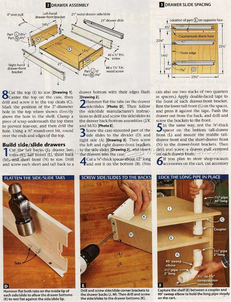#2482 DIY Sanding Table