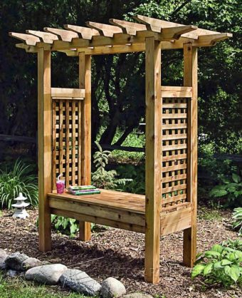 Japanese Garden Bench Ideas