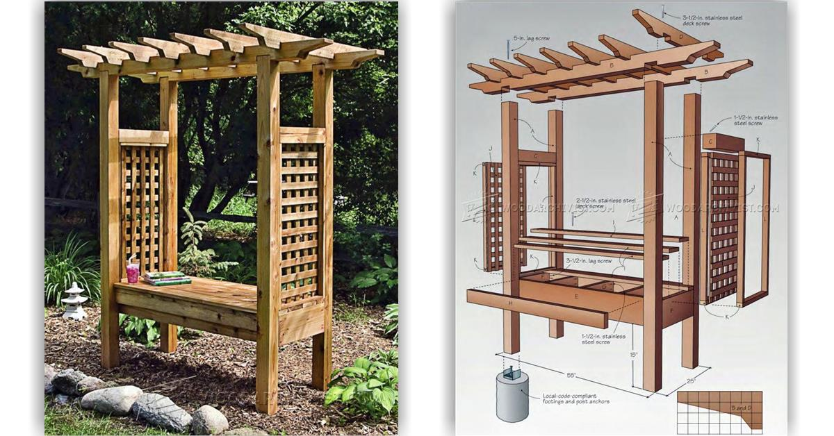 Plans For An Arbor