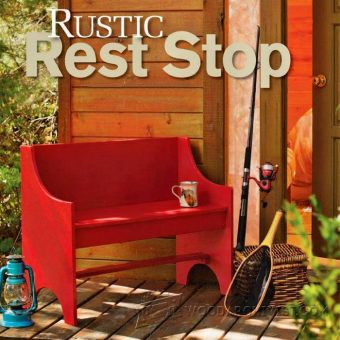 2492-Rustic Bench Plans