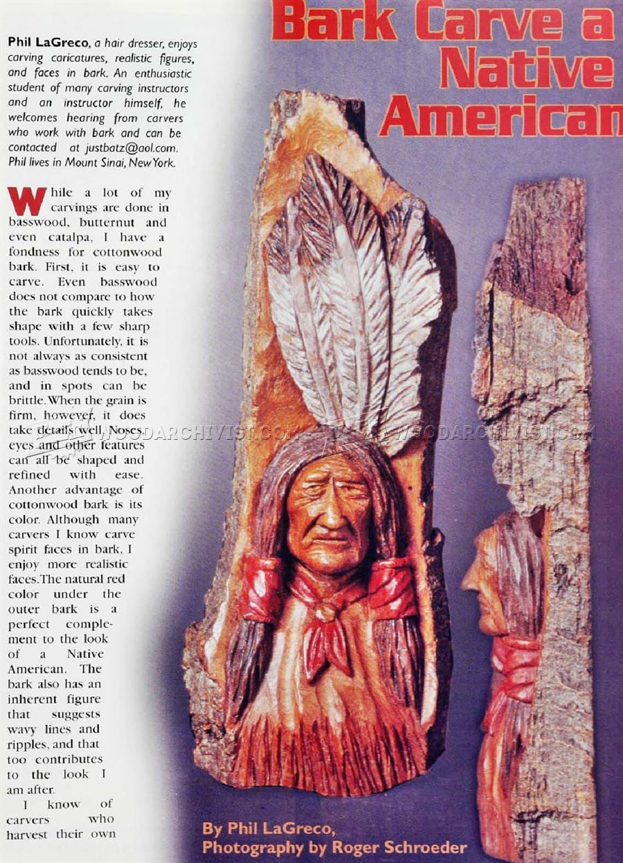 Native American Wood Carving