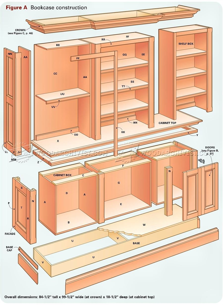 Woodworking Bookcase Plans.[woodworking Bookcase Plans] 20 ...
