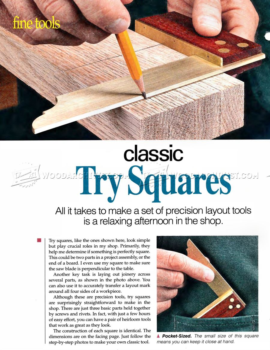 #2504 DIY Try Square