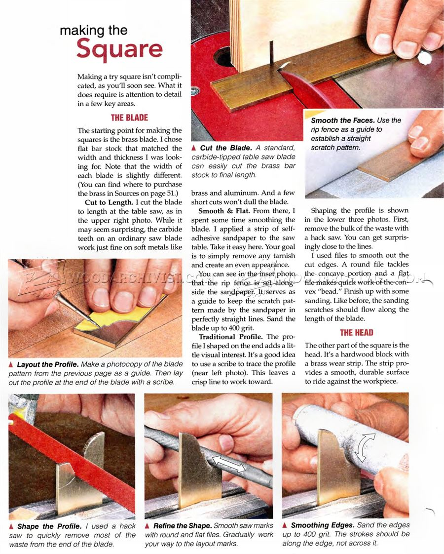 DIY Try Square