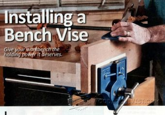 Diy Pipe Clamp Vise Woodarchivist