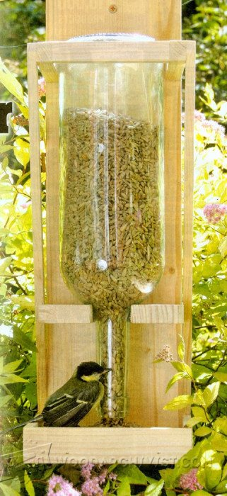 2509-DIY Bird Feeder