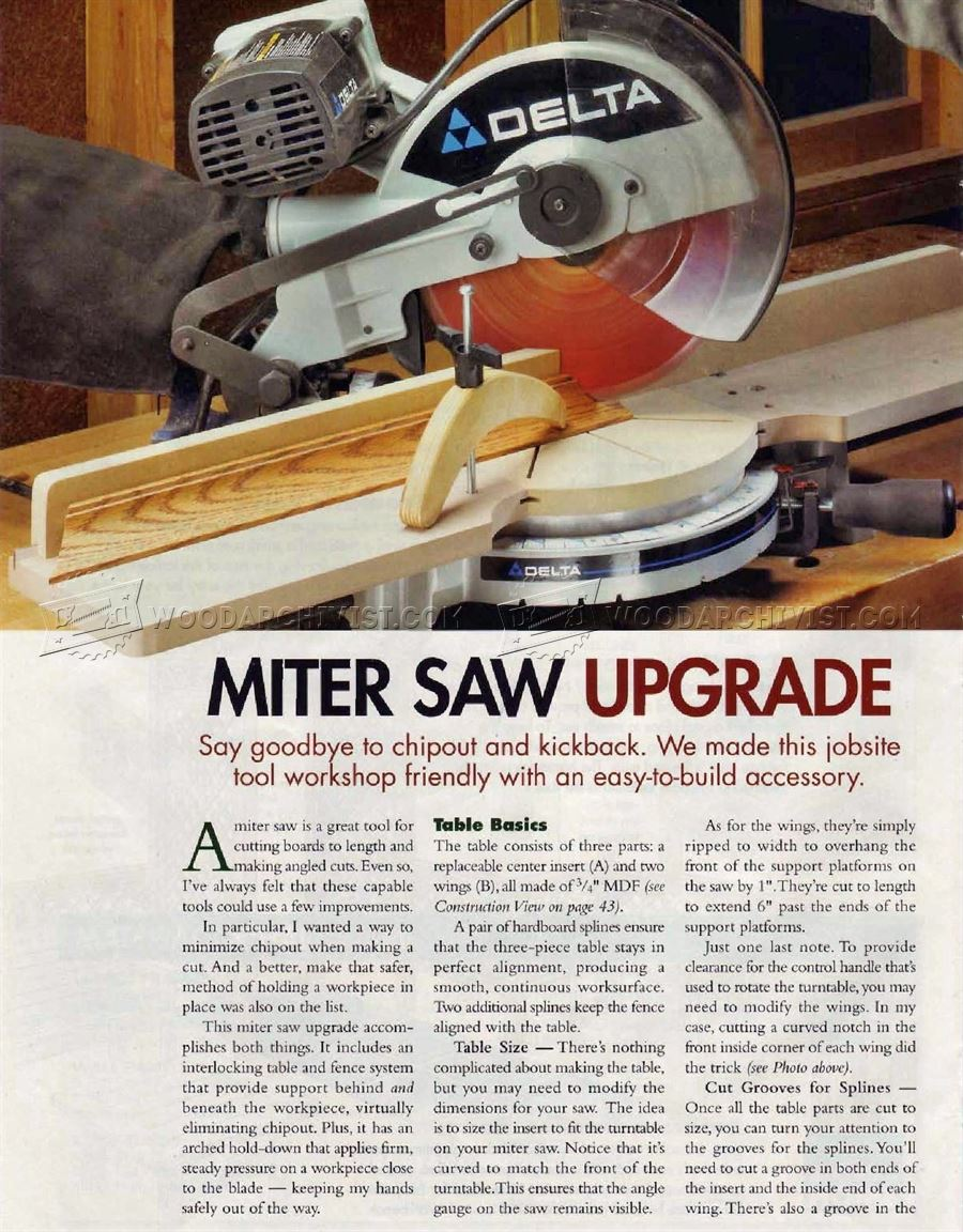 Miter Saw Upgrade