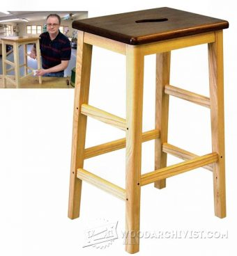 2514-Bench Stool Plans