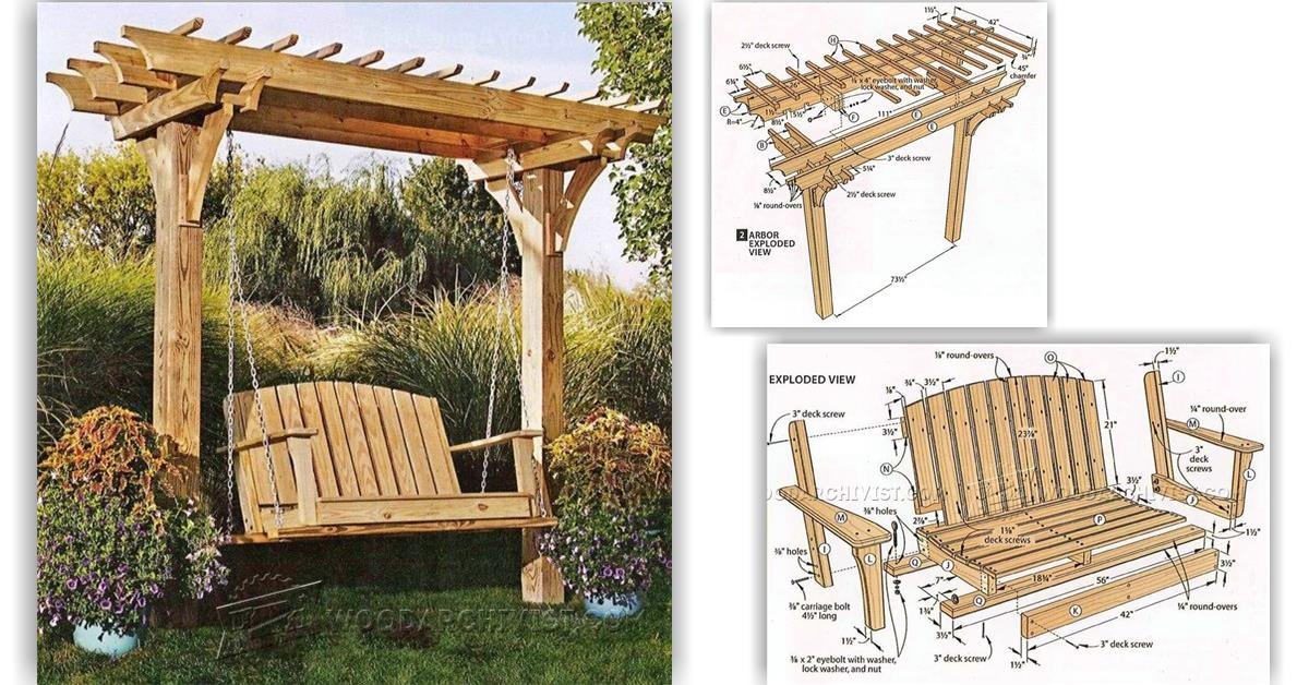 Wooden Swing Frame Plans