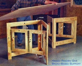 2526-Plywood Cutting Support