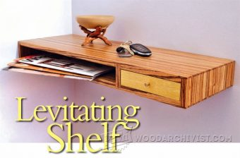 2536-Floating  Shelf Plans