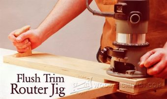 2538-Flush Trim Router Jig