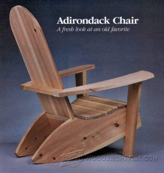 2540-Build Adirondack Chairs