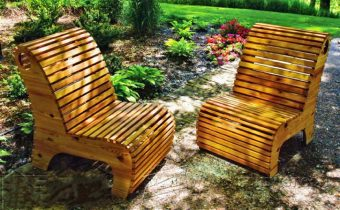 2542-Outdoor Slat Chair Plans