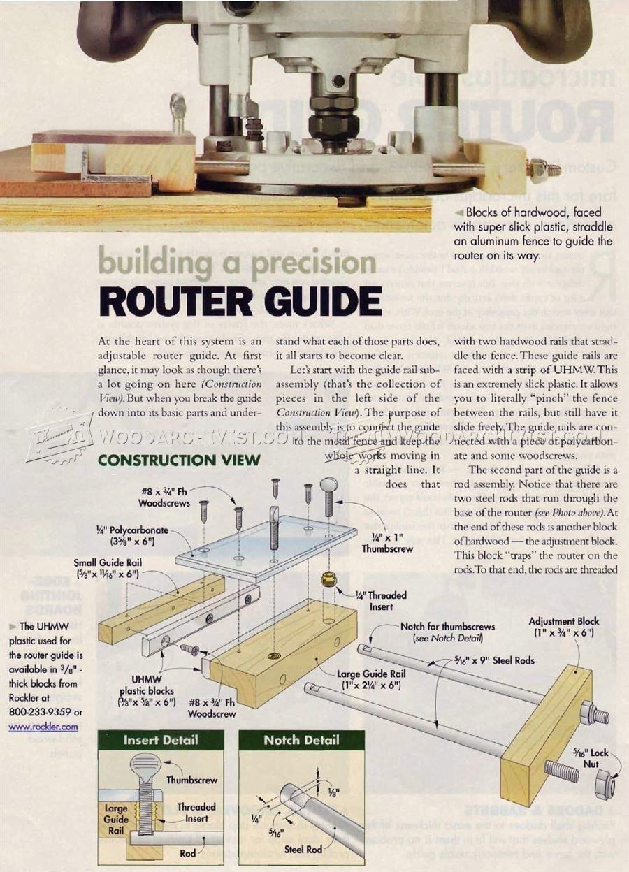 DIY Router Guide