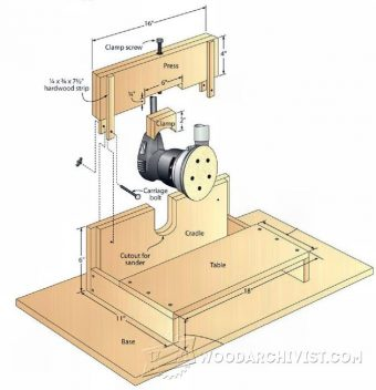 2545-DIY Small Parts Edge Sander
