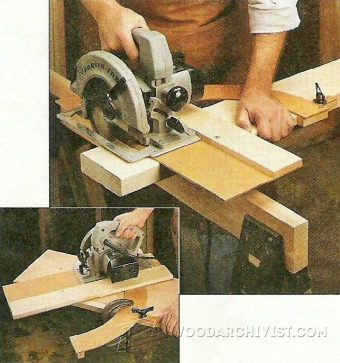 2551-Circular Saw Cut Off Jig