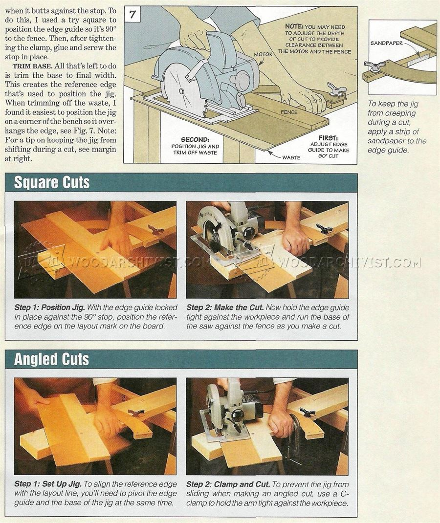 #2551 Circular Saw Cut Off Jig