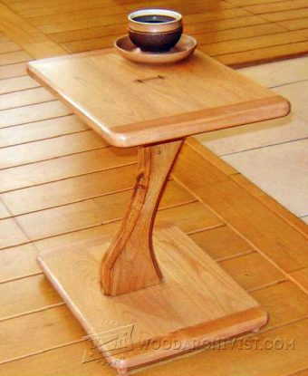 2552-Pedestal Table Plans