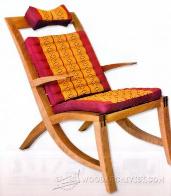 2553-Lounge Chair Plans