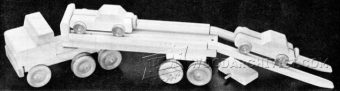 2554-Wooden Toy Car Carrier Plans