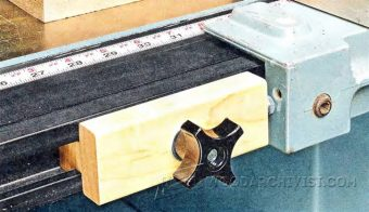 2558-Table Saw Fence Stop Block