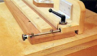 2559-Micro Adjustable Router Fence