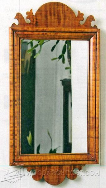 2561-Country Wall Mirror Plans