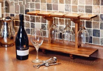 2582-Wineglass Shelf Plans