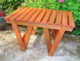 2583-Patio Coffee Table Plans