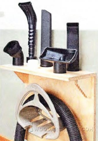 2597-Shop Vacuum Rack