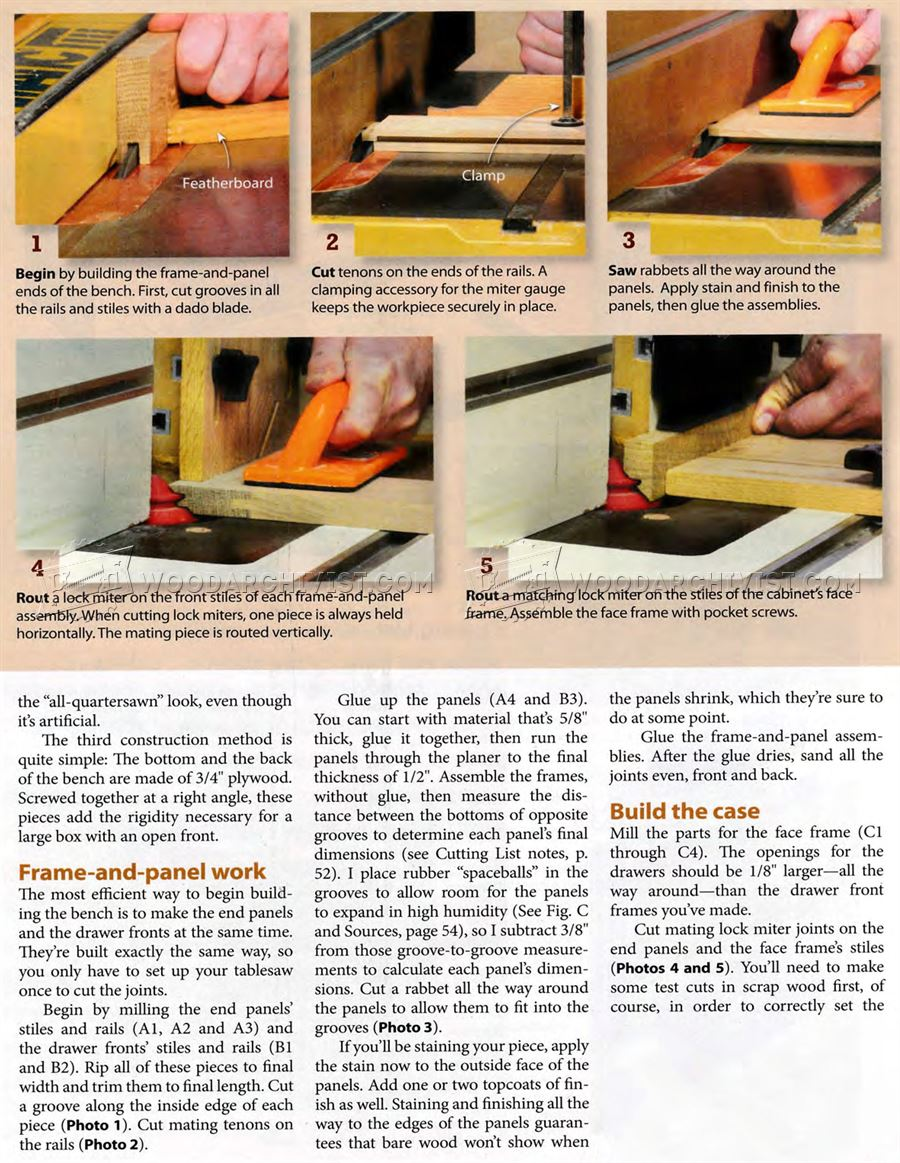 #2603 Boot Bench Plans