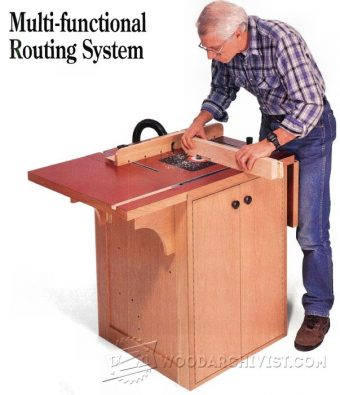 2613-Extension Router Table Plans