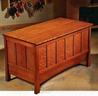 2615-Build Blanket Chest