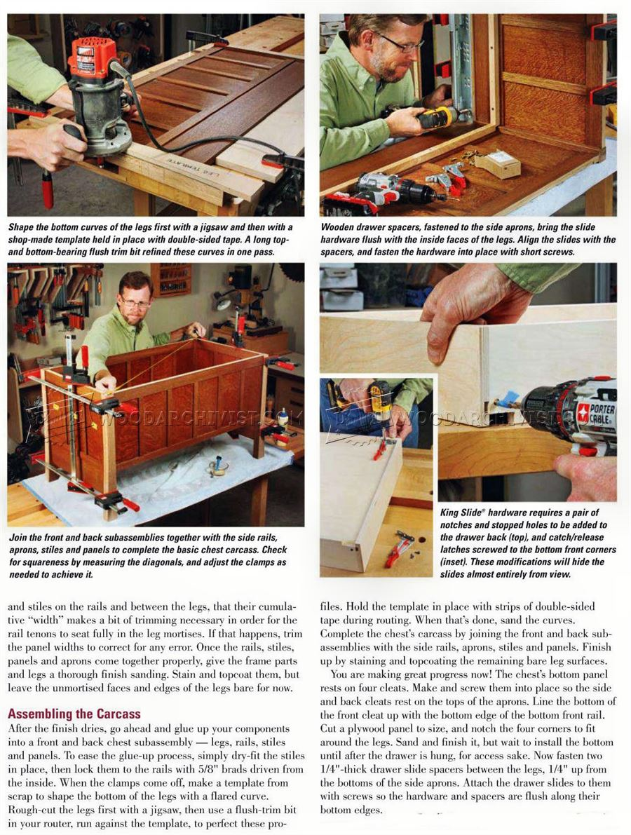 Build Blanket Chest