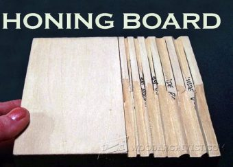 2617-DIY Honing Board - Sharpening Wood Carving Tools